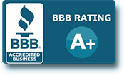 A+ Rating BBB Accredited Business